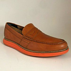 COLE HAAN Lunargrand Mens 8 Leather Loafers